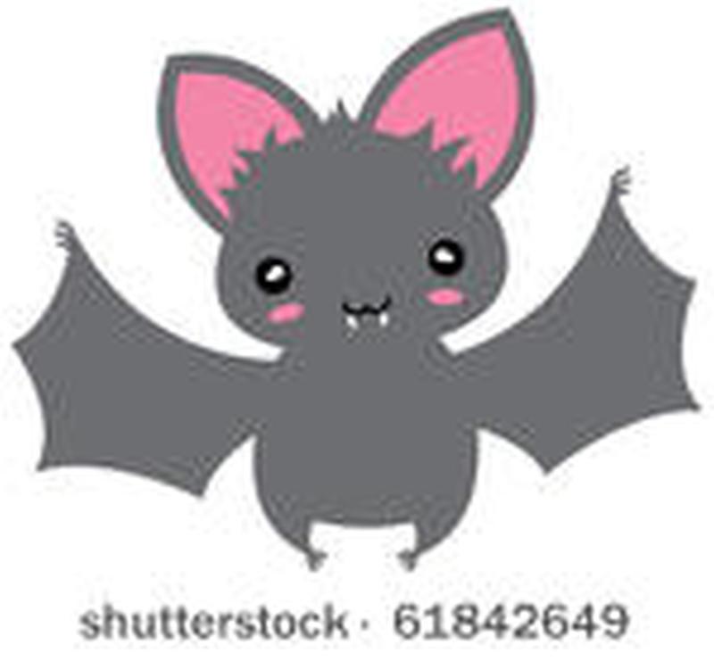 Small kawaii flying cartoon bat tattoo design tattoos for Small cartoon tattoo designs