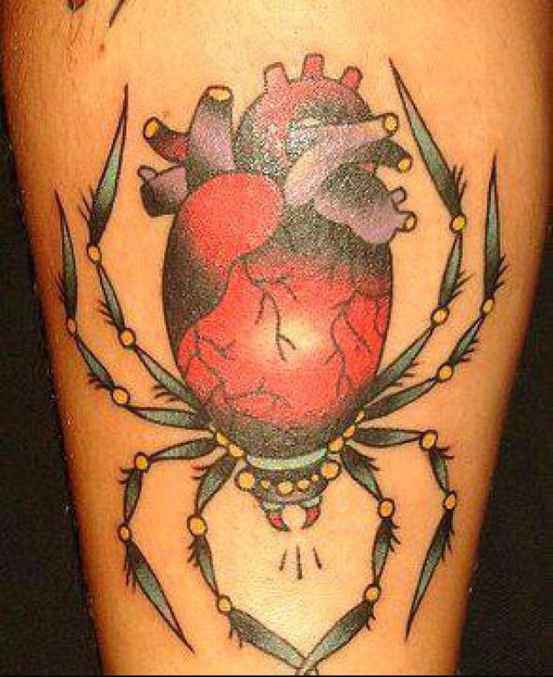 Spider insect tattoo design