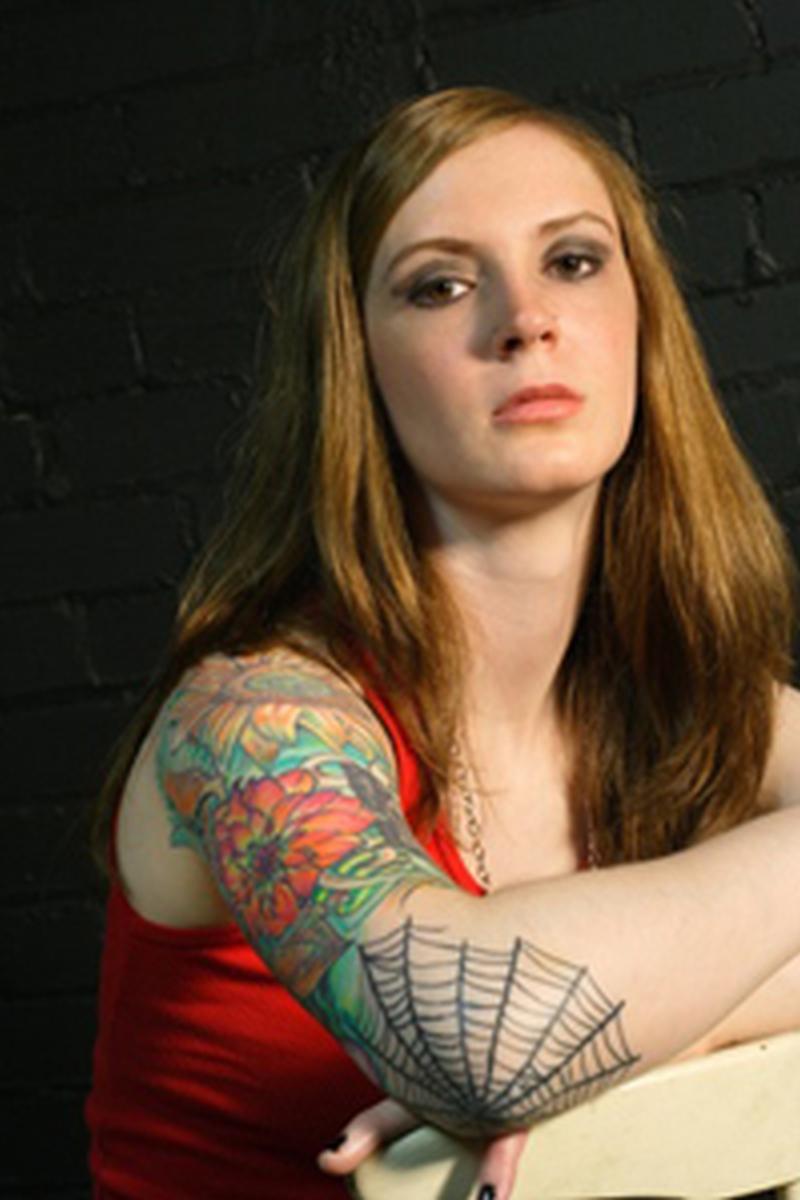 Spider web elbow tattoo design 3