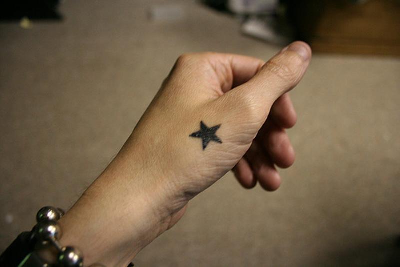 bd196f6ce763b Star hand tattoo - Tattoos Book - 65.000 Tattoos Designs