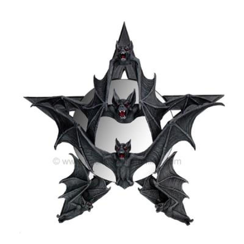 Star style bats tattoo design