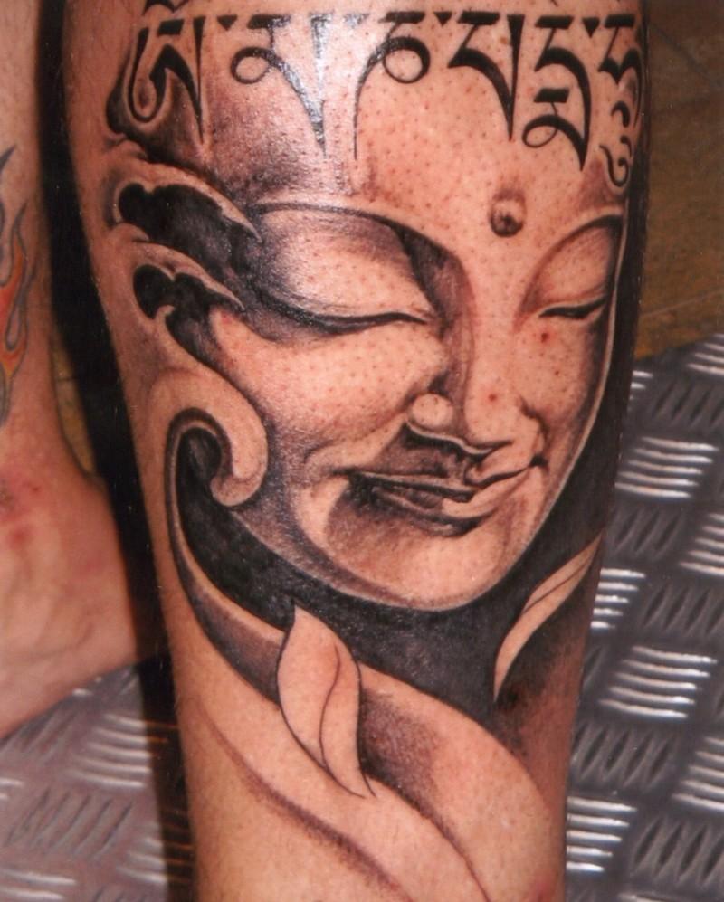 Stunning buddhist tattoo design