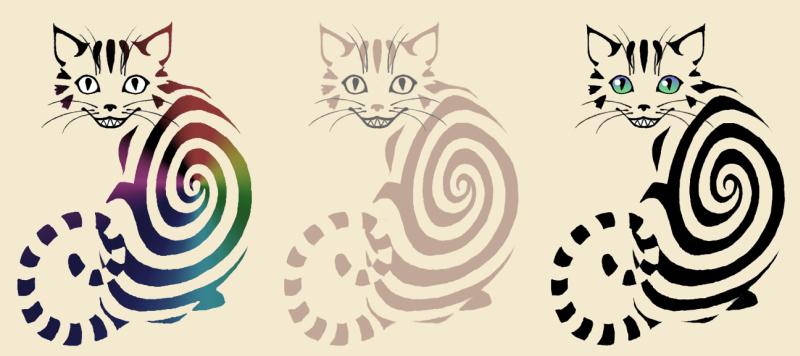 Stunning cat tattoo designs