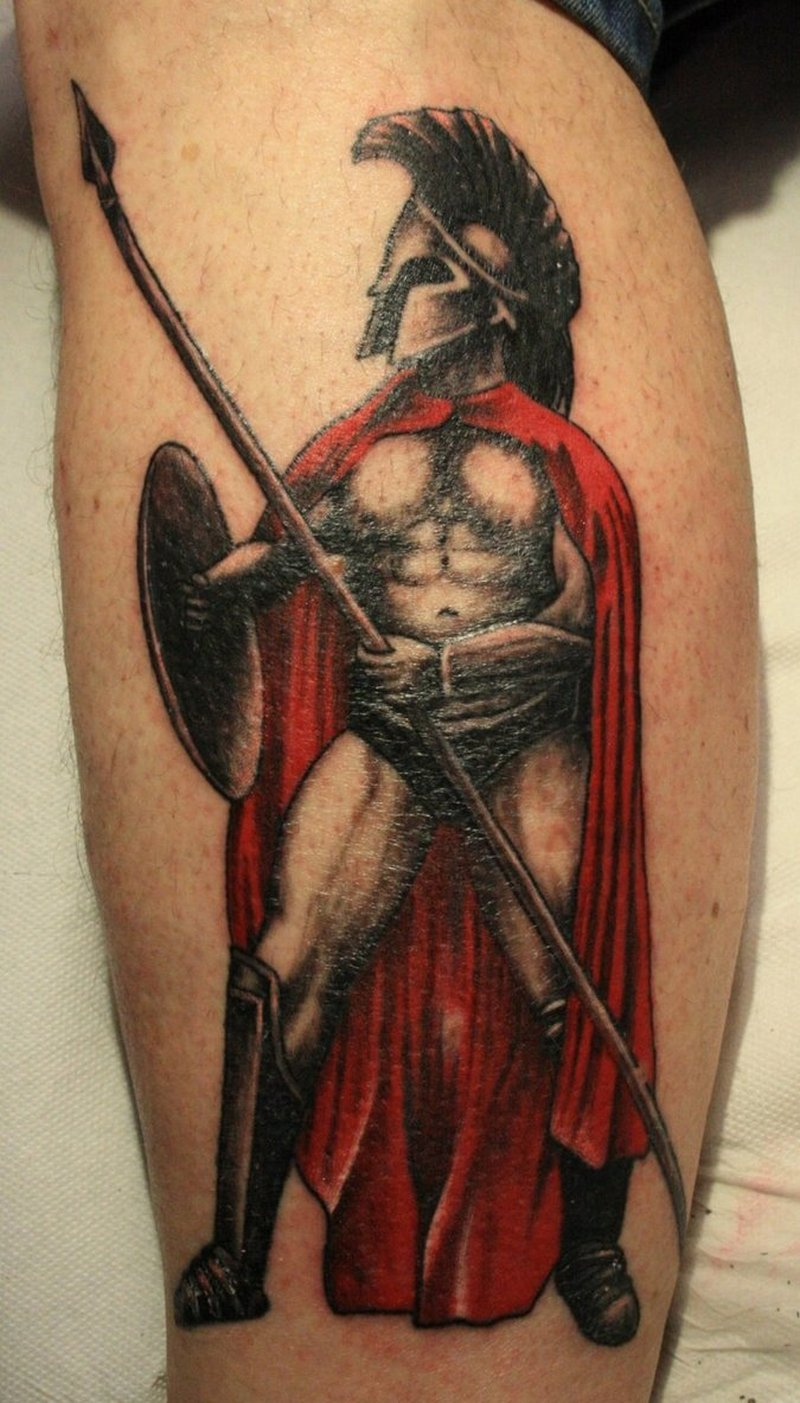 c4a855c88 Superb aztec warrior tattoo design - Tattoos Book - 65.000 Tattoos ...