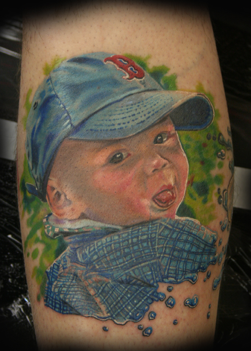 Superb tattoo design of baby boy tattoos book for Baby s first tattoo book