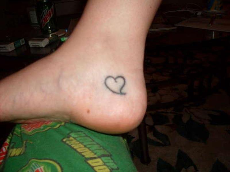 Sweet Simple Ankle Tattoo Design Tattoos Book 65 000 Tattoos Designs