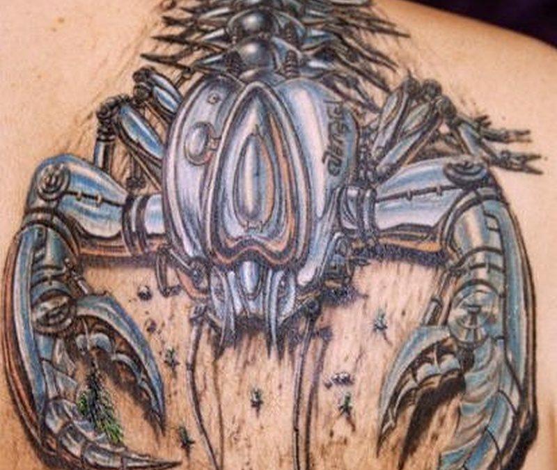 Tattoo 3dscorpiontattoo