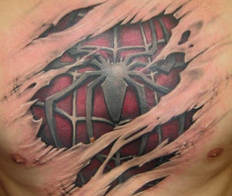 Tattoo 3dspidermantattoo