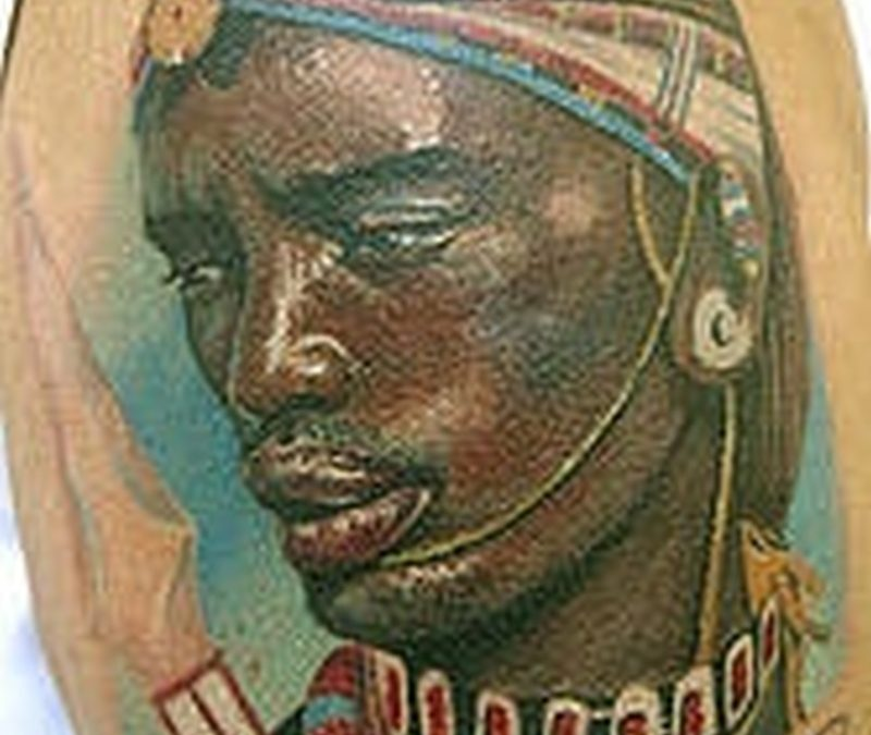 Tattoo africanwarriortattoo