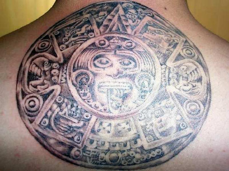 Tattoo aztec09