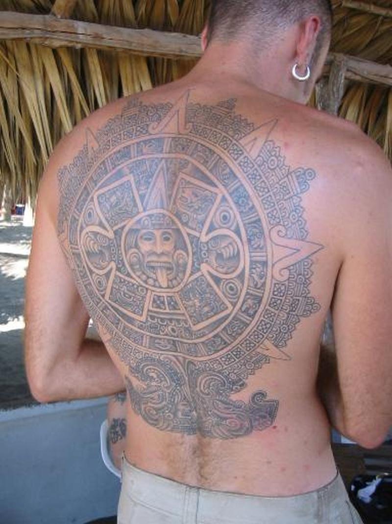 Tattoo aztec13