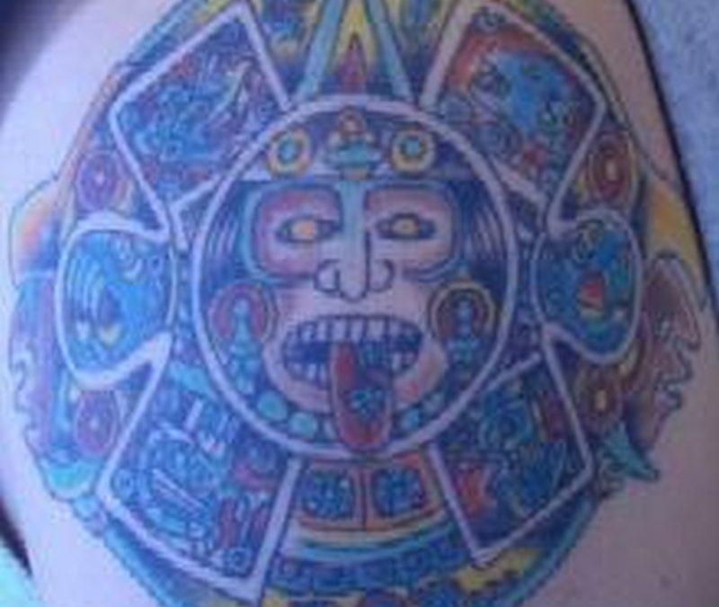 Tattoo aztec16