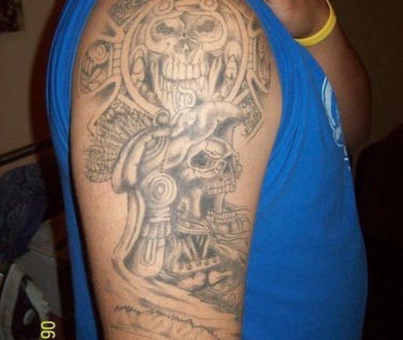 Tattoo aztec22