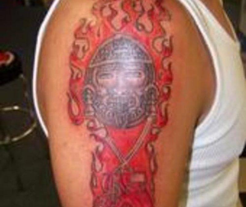 Tattoo aztec30