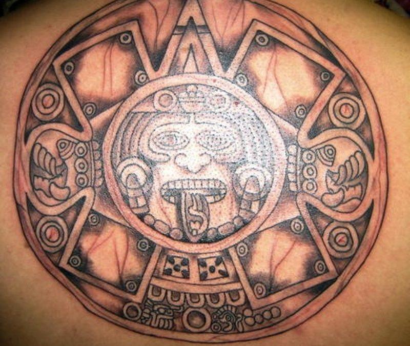 Tattoo aztec32