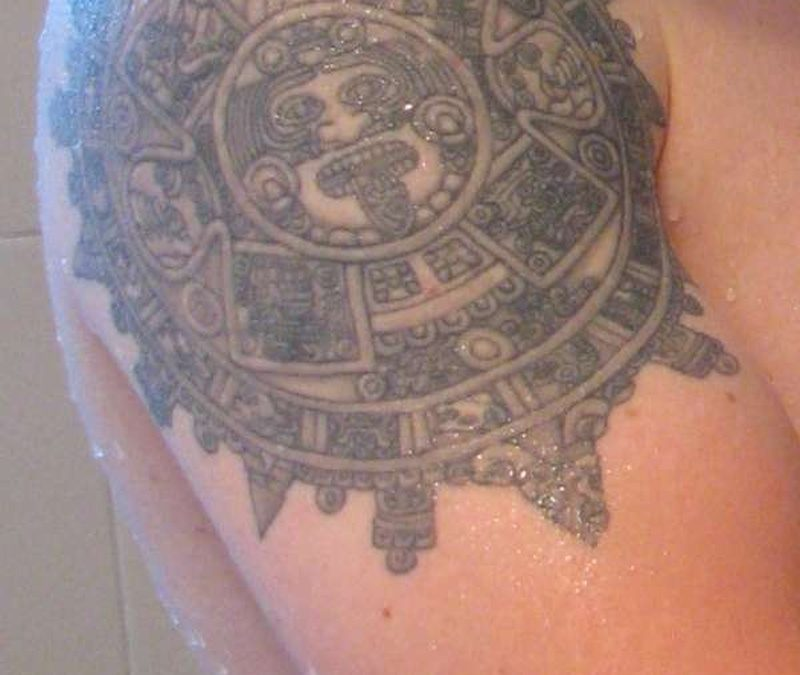 Tattoo aztec33