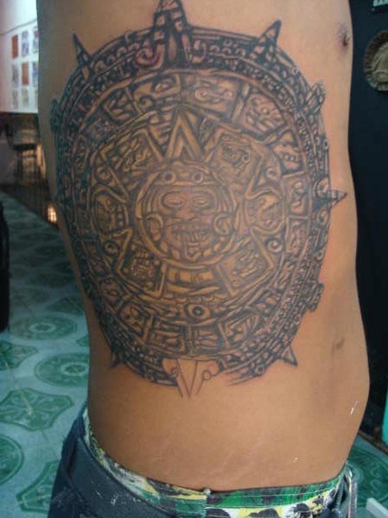 Tattoo aztec35