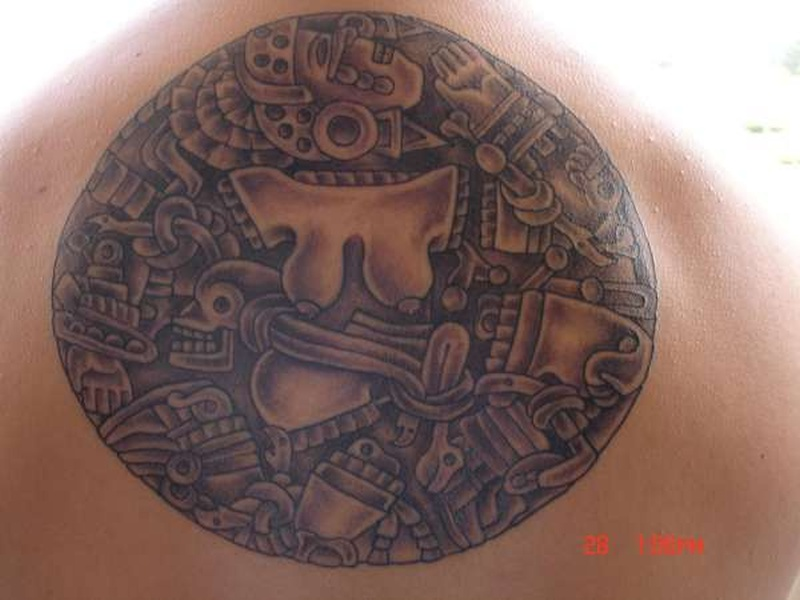 Tattoo aztec44