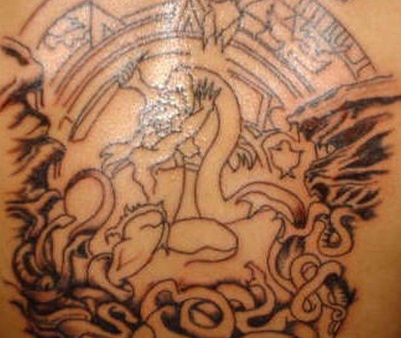 Tattoo aztec50