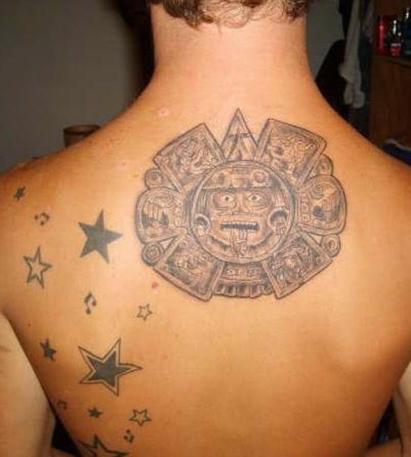 Tattoo aztec51