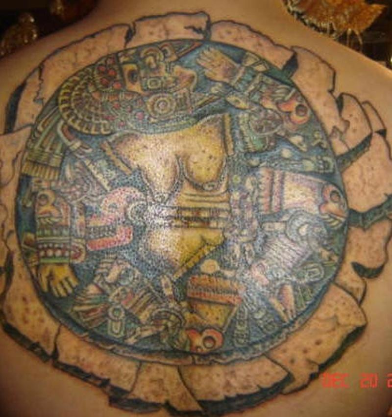 Tattoo aztec58