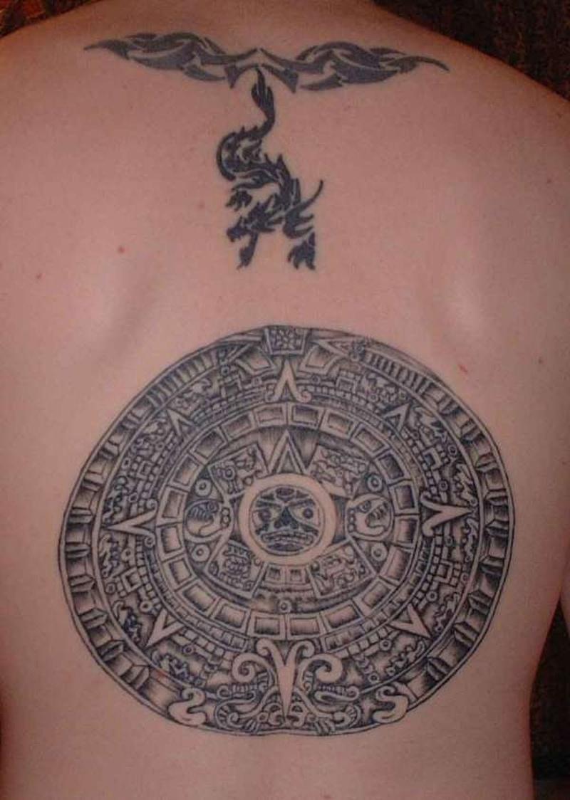 Tattoo aztec63