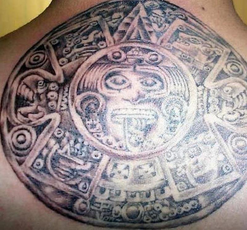 Tattoo aztec64