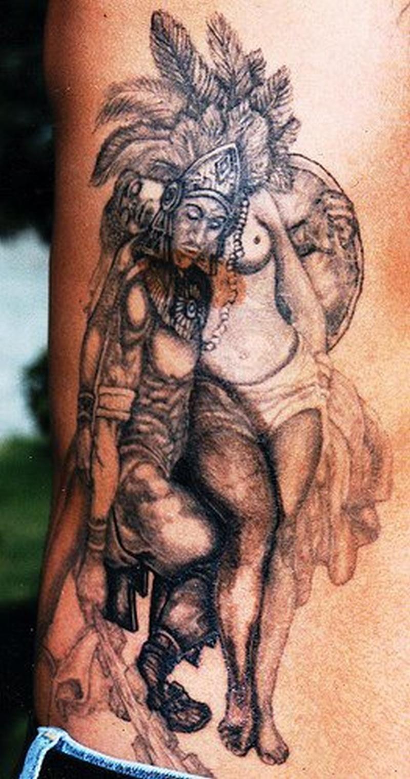 Tattoo aztec66