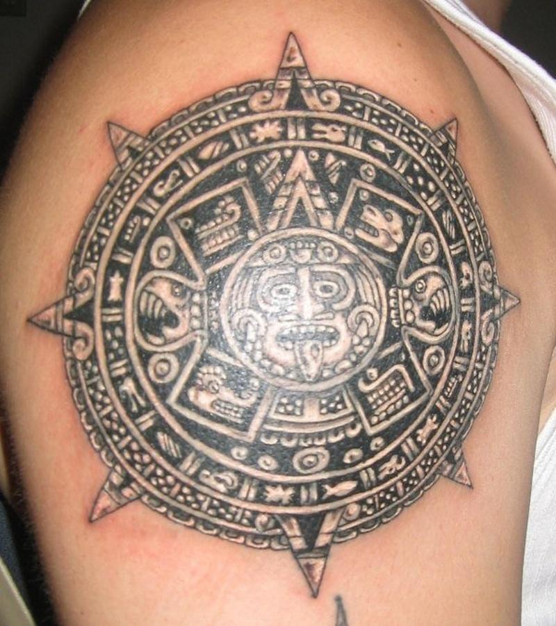 Tattoo aztec88