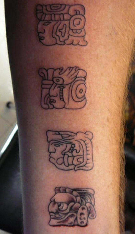 Tattoo aztecdeitytattoo