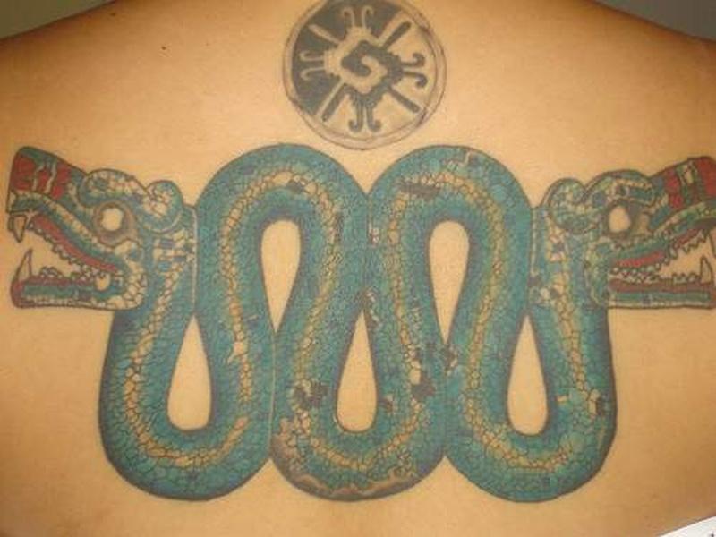 Tattoo aztecserpenttattoo