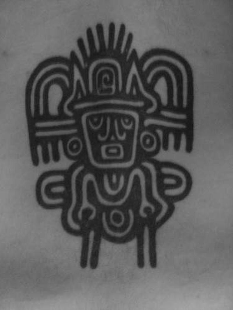 Tattoo aztectribaltattoo