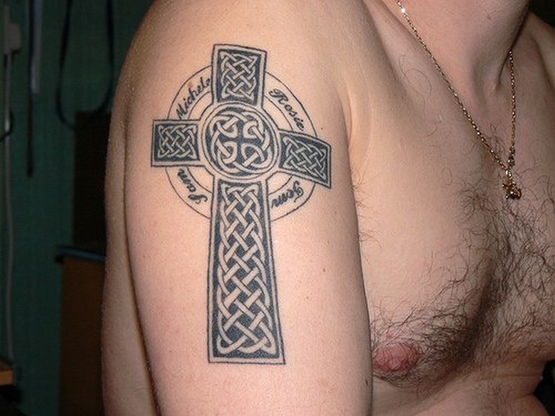 Tattoo celticcrosstattoopicture3