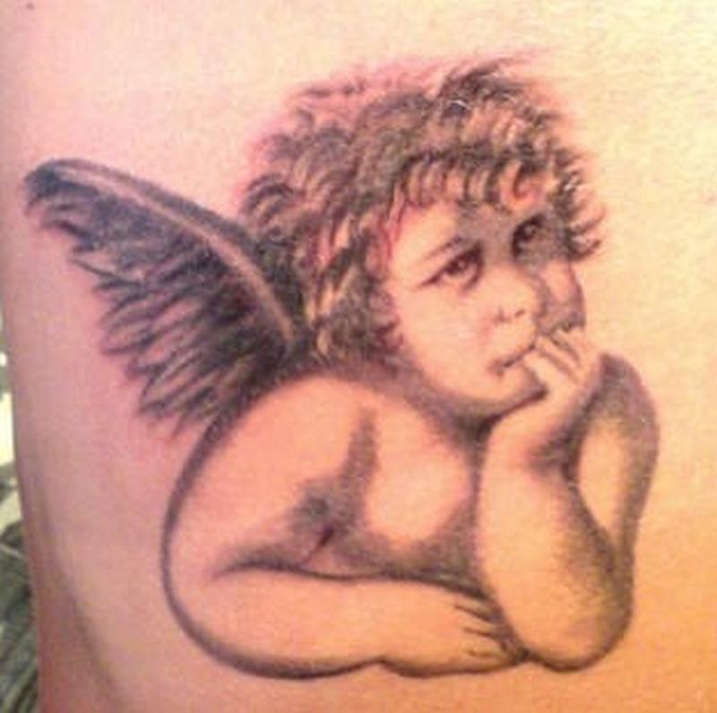 Tattoo classiccherubtattoo