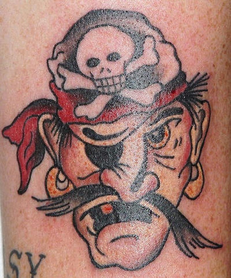 Tattoo classicpiratetattoo