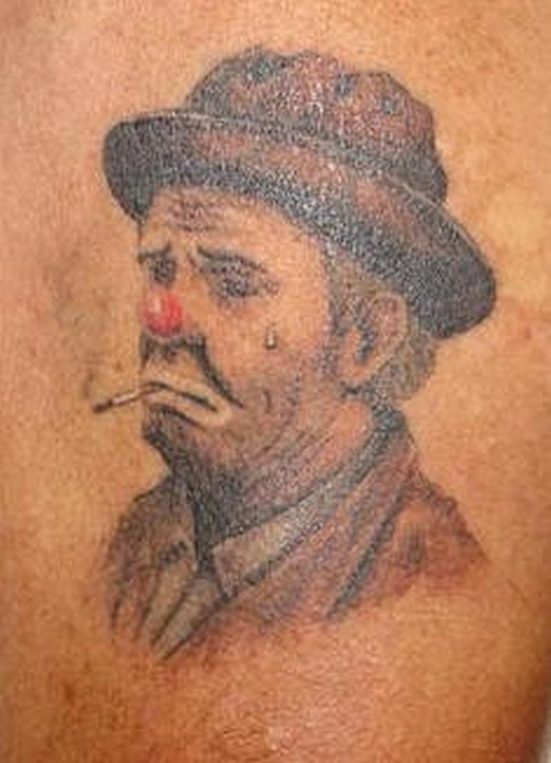 Tattoo clown03