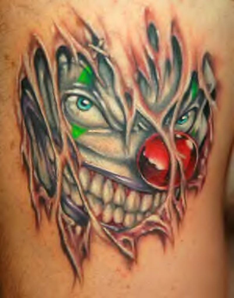 Tattoo clown06