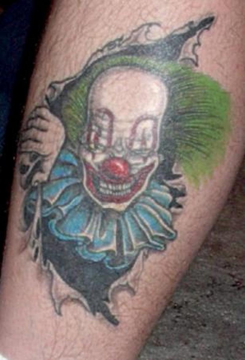 Tattoo clown07