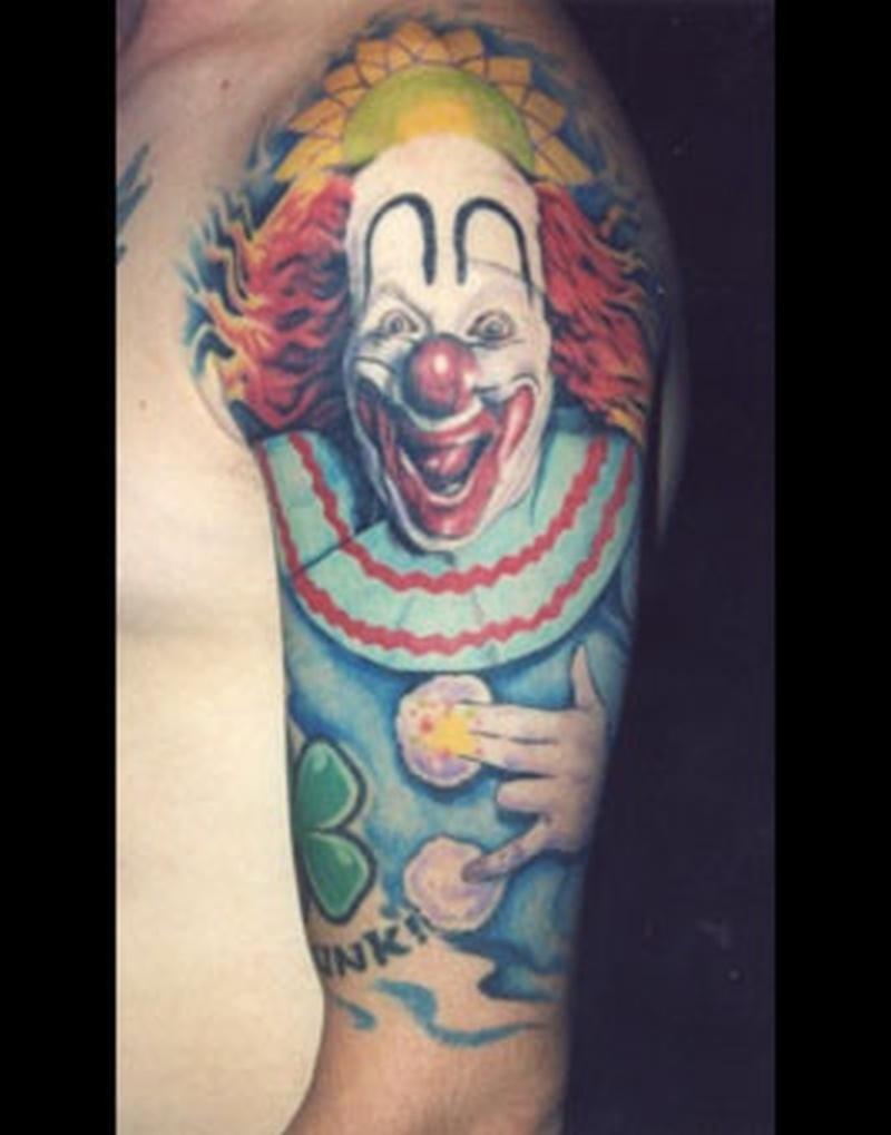 Tattoo clown08