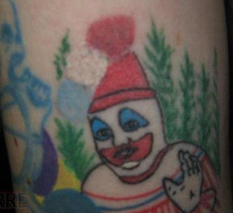 Tattoo clown09