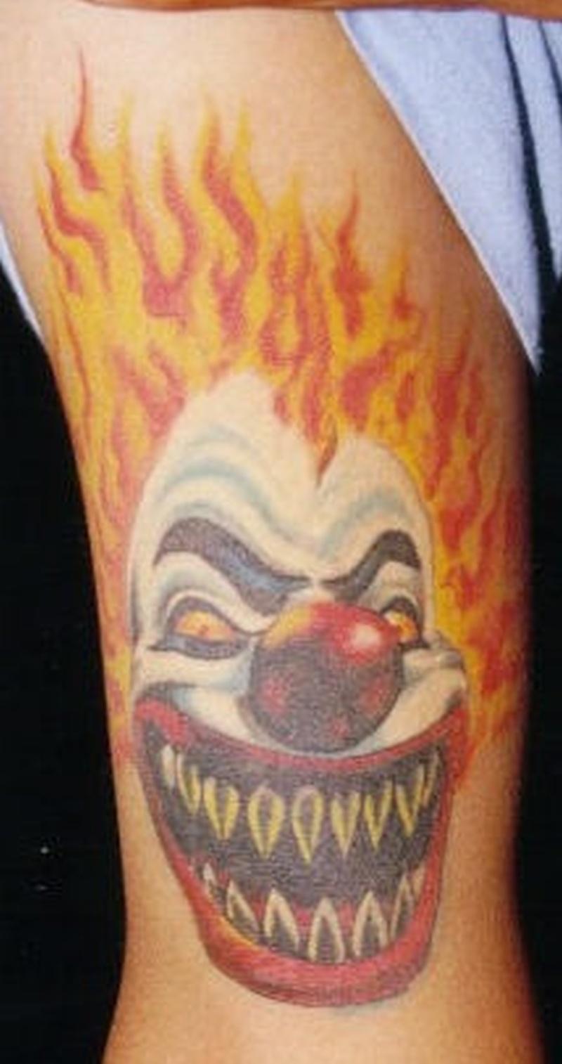 Tattoo clown10