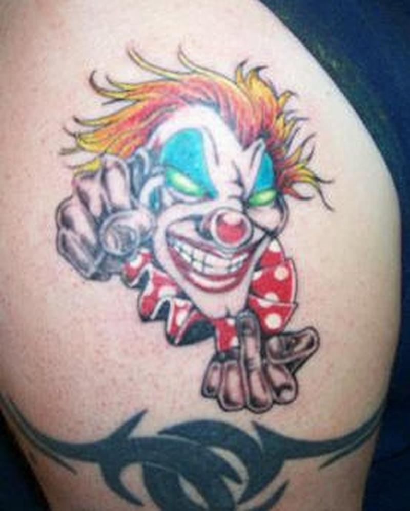 Tattoo clown12