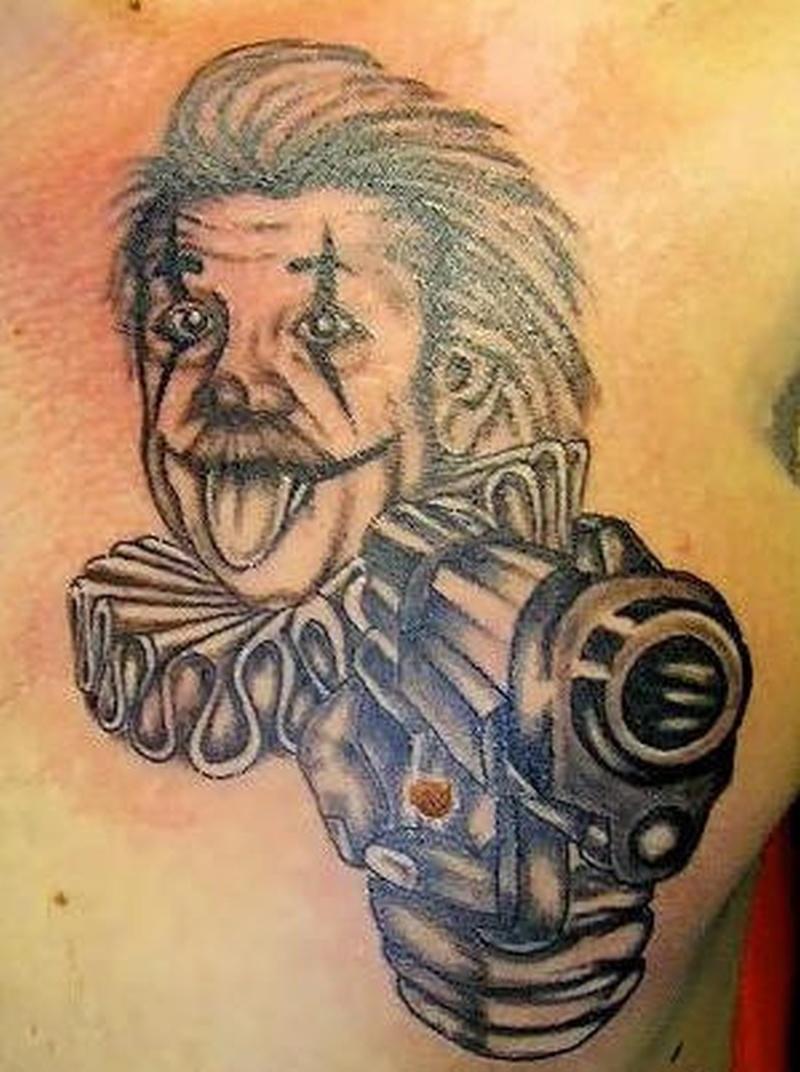 Tattoo clown14