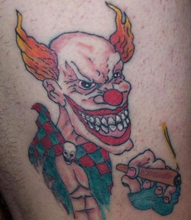 Tattoo clown15