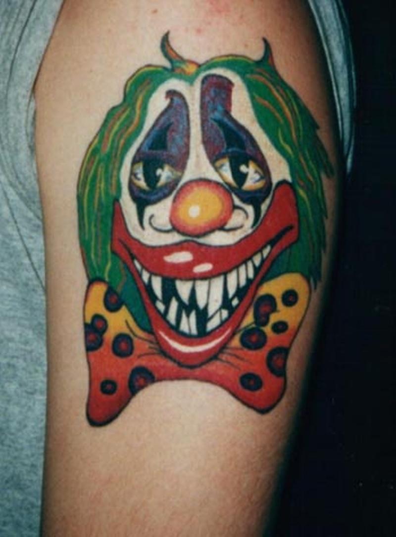 Tattoo clown20