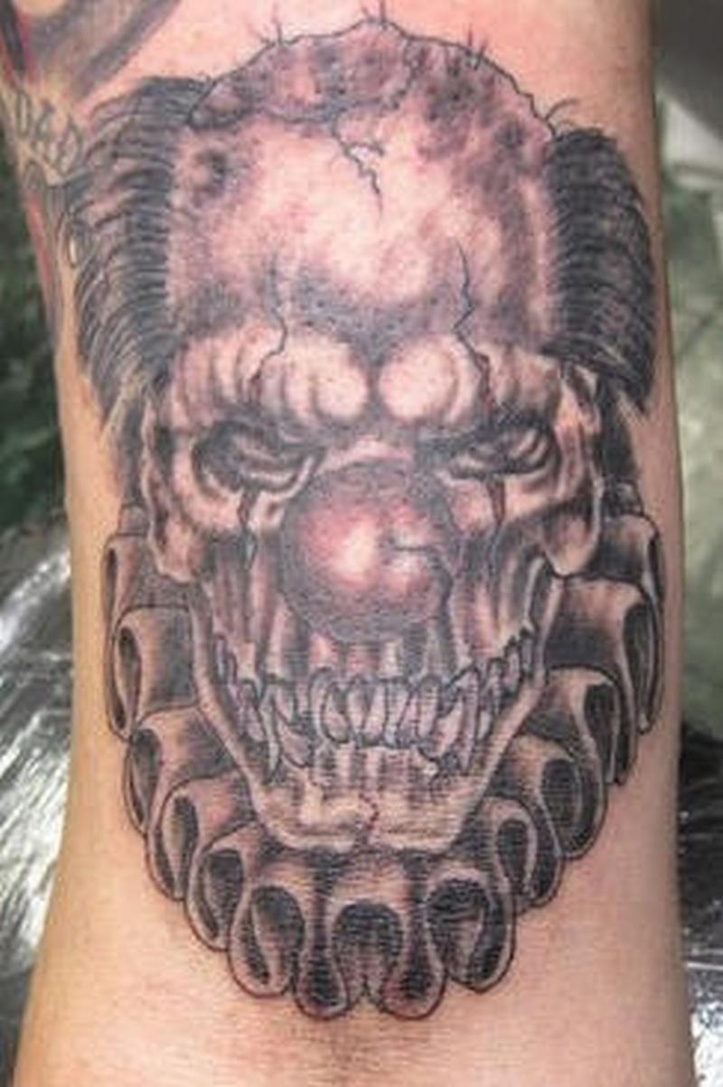 Tattoo clown21