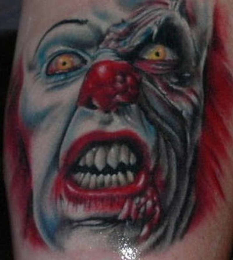 Tattoo clown22