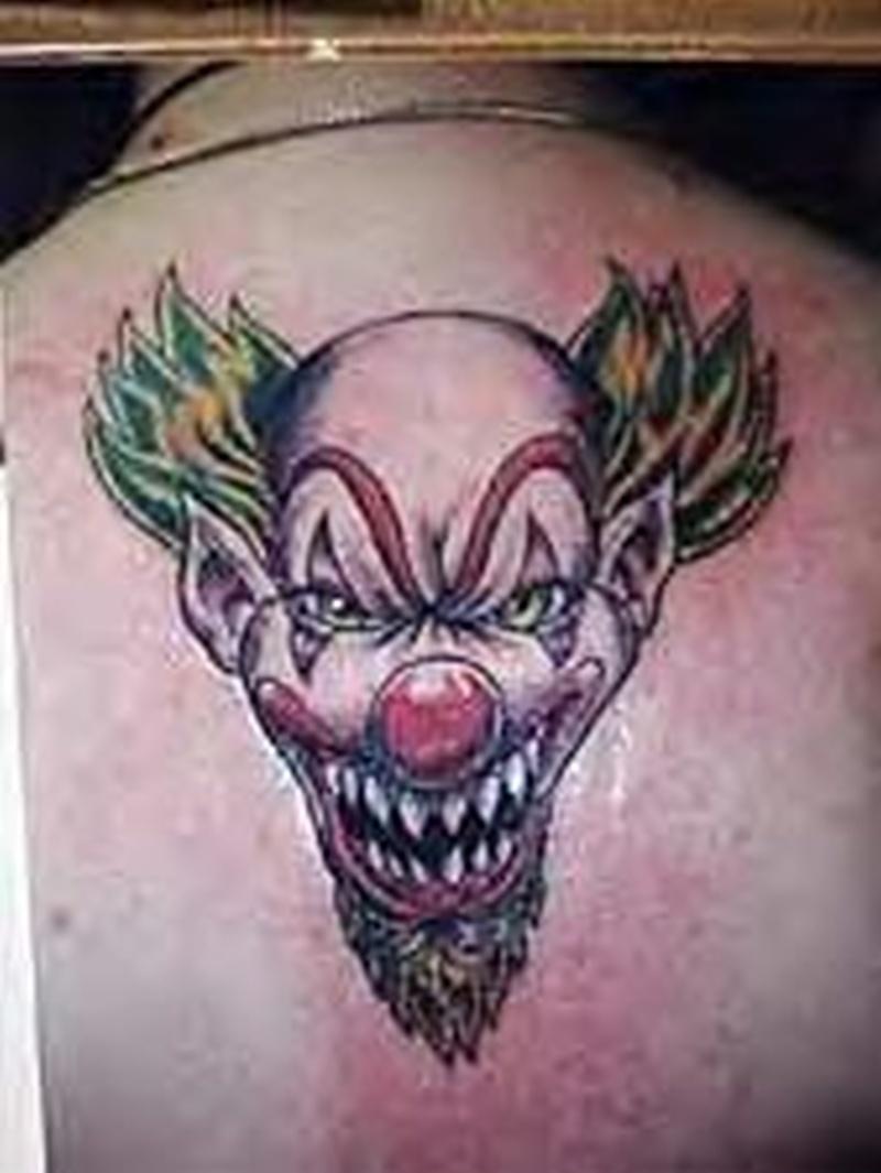 Tattoo clown31 0