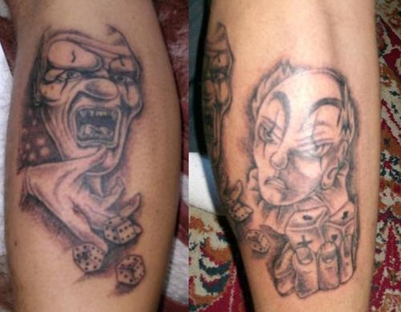 Tattoo clown37