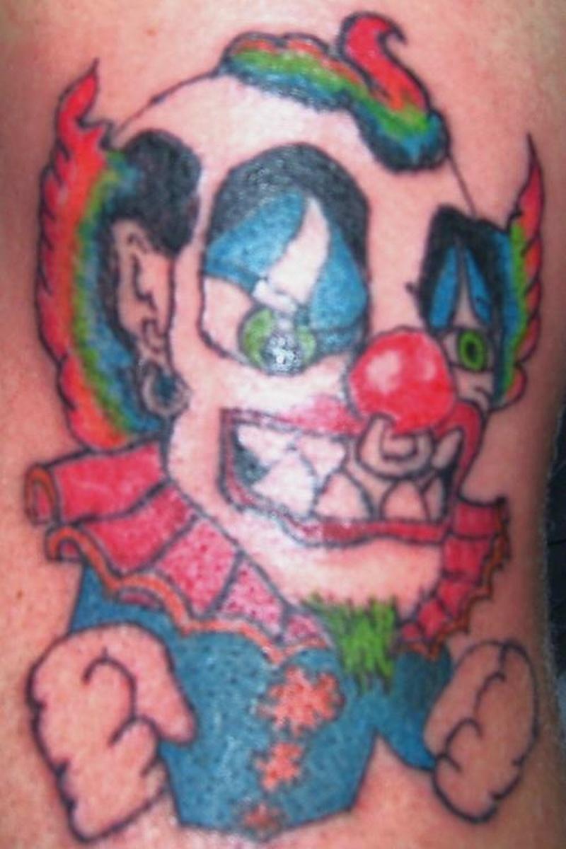 Tattoo clown41